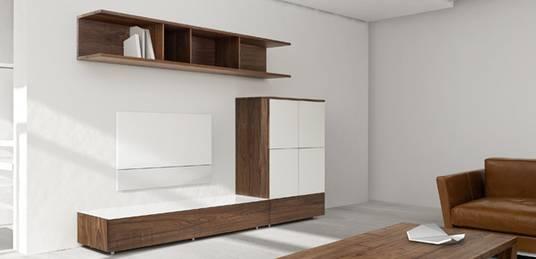 Wohnwand selber planen  SEQUOIA Einrichtungen: Regale, Sideboards ...