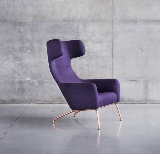 Ohrensessel moderne form  SEQUOIA Einrichtungen: Relax-Sessel